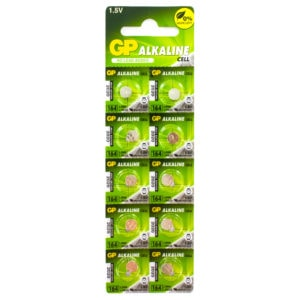 GP Batteries Alkaline Button 164 Batteries | Pack of 10