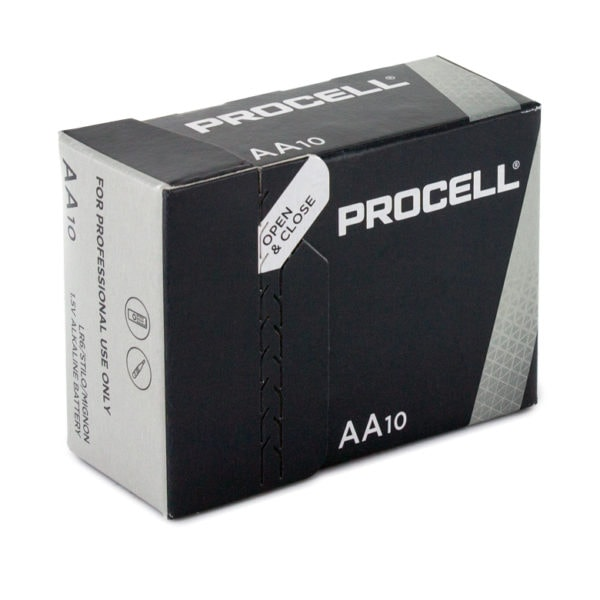 Duracell Procell AA Batteries | Box of 10