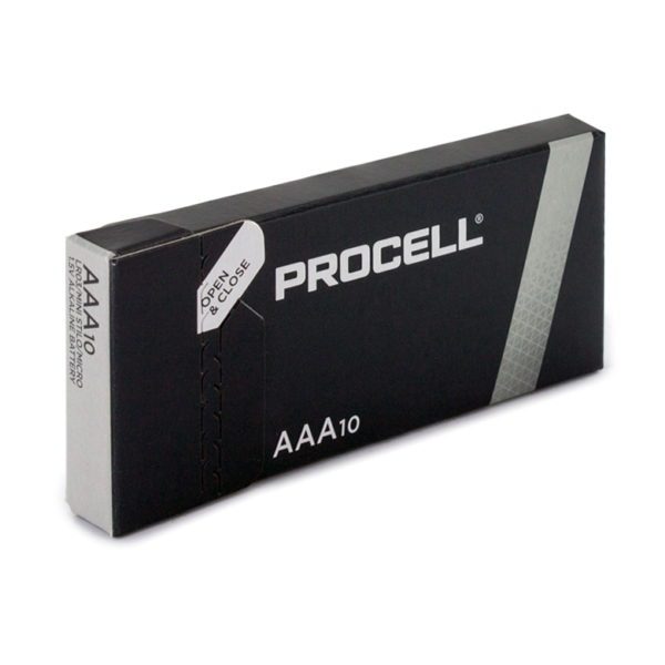 Duracell Procell AAA Batteries | Box of 10