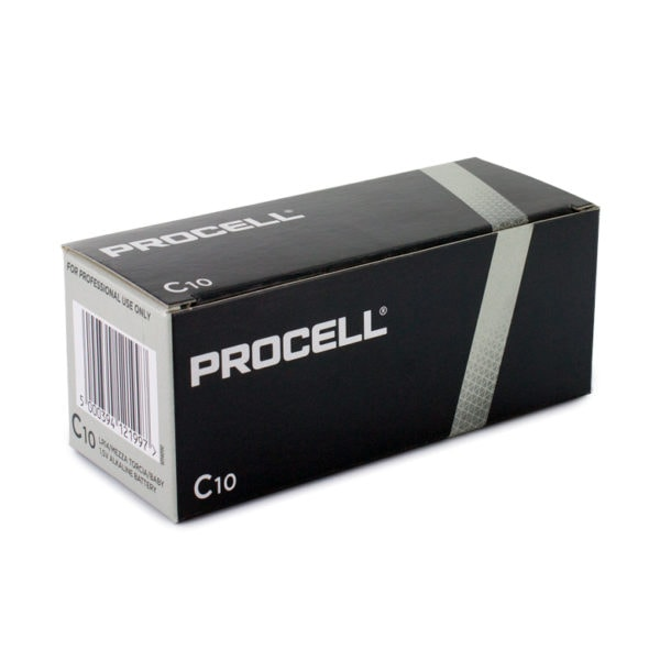 Duracell Procell C Batteries | Box of 10