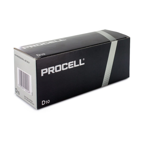 Duracell Procell D Batteries | Box of 10