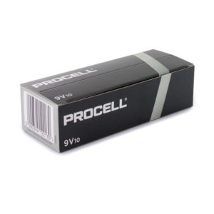 Duracell Procell PP3 (9V) Batteries | Box of 10