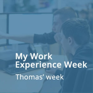 Thomas Work Experience Week