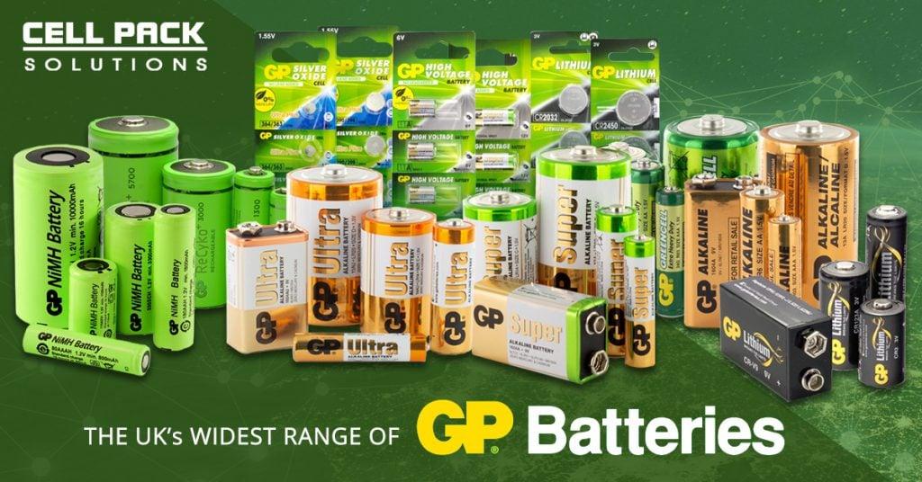 GP Batteries Full Ranges