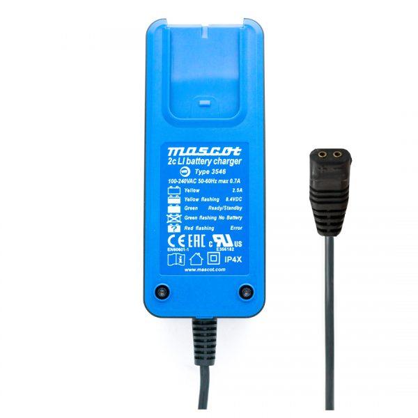 Mascot Blueline 3546 LI 2 Cell 7.4V 2.5A Li-Ion Battery Charger