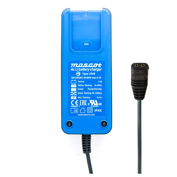 Mascot Blueline 3546 LI 4 Cell 14.8V 1.65A Li-Ion Battery Charger