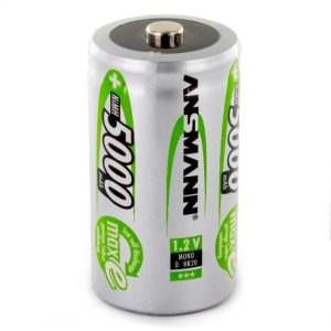 Ansmann maxE D 5000mAh Rechargeable Battery