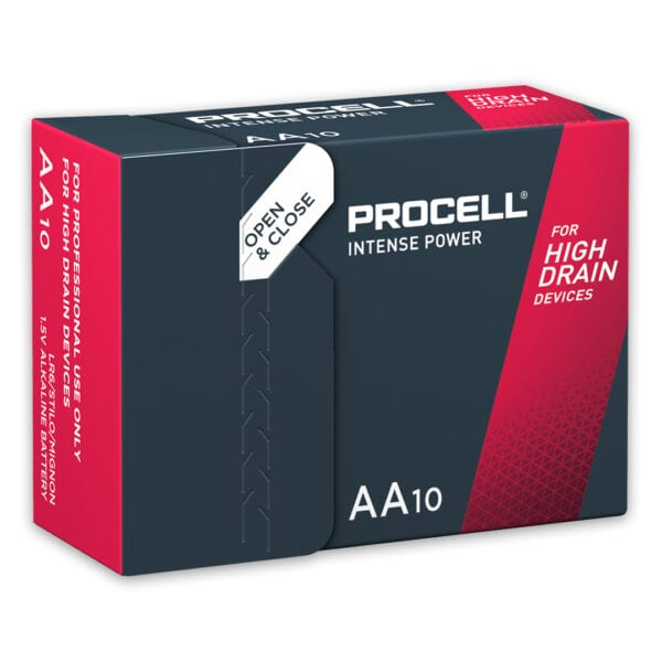 Duracell Procell Intense AA Batteries | Box of 10