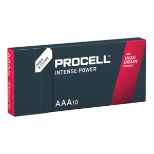 Duracell Procell Intense AAA Batteries | Box of 10