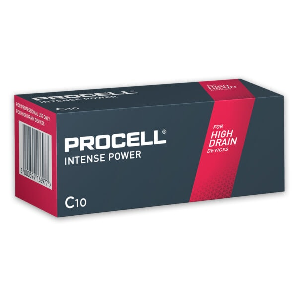 Duracell Procell Intense C Batteries | Box of 10