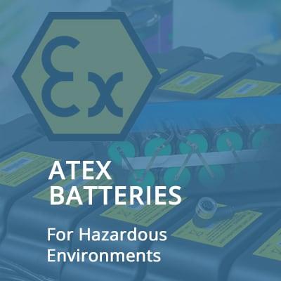 ATEX Batteries For Hazardous Environments