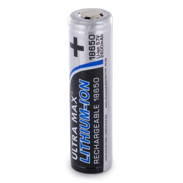 Ultra Max Li-Ion 18650 Rechargeable Battery