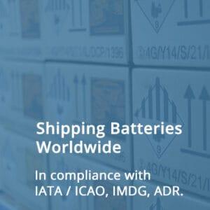 Shipping Batteries Worldwide